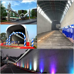 Construction of Underpass and Service Road-1